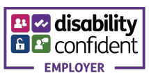 Disability Confident logo badge