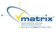 Matrix logo badge